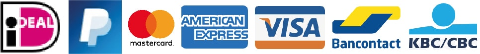 Betaalmethodes bij Licener.nl zijn: iDEAL, Pay Pall, Mastercard, American Express, Visa, Bancontact & KBC/CBC